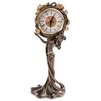Часы «Девушка и лотусы» WS-687/2