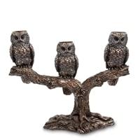 Подсвечник «Три совы» WS-781