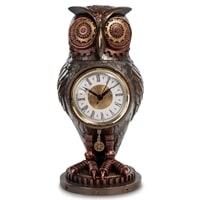Статуэтка-часы в стиле Стимпанк «Сова» WS-186