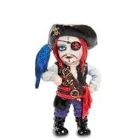 """Статуэтка в стиле Фэнтези """"Капитан пиратов и его попугай"""" WS-794"""