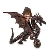 Статуэтка в стиле Стимпанк «Дракон с шаром» WS-296
