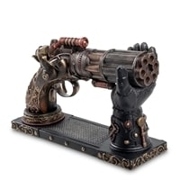 Статуэтка в стиле Стимпанк «Револьвер» на подставке WS-284