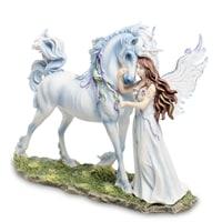 Статуэтка «Ангел и Единорог» WS-249 (Джоди Бергсма)