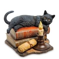 Статуэтка «Кот на книгах» WS-843 (Лиза Паркер)