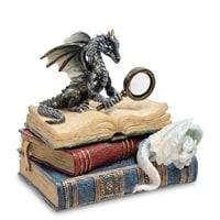 Статуэтка «Дракон на книгах» WS-844