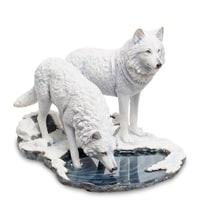 Статуэтка «Пара волков» WS-847 (Лиза Паркер)
