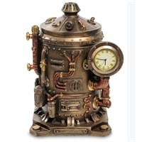 Статуэтка-часы в стиле «Стимпанк» WS-906