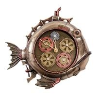 Статуэтка-часы в стиле Стимпанк «Рыба» WS-907