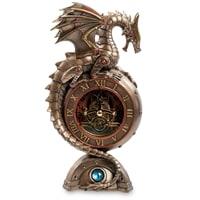 Статуэтка-часы в стиле Стимпанк «Дракон» WS-910