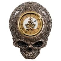 Статуэтка-часы в стиле Стимпанк «Череп» WS-916