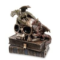 Статуэтка «Драконы на черепе и книгах» WS-919