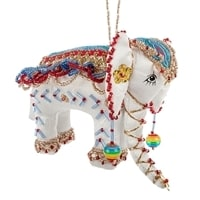 Кукла подвесная «Слон» бисер RK-520
