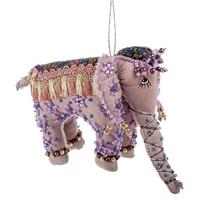 Кукла подвесная «Слон» бисер в ассортименте RK-519