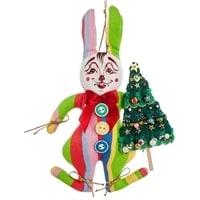 Кукла подвесная «Кролик с елкой» RK-456