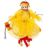 Кукла подвесная «Клоунесса с бантом» RK-487