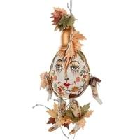 Яйцо-подвеска «Осень» фарфор RK-506