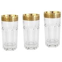 Набор из 6 хрустальных стаканов для воды «Версаче»