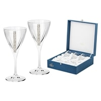 Набор из 6 хрустальных бокалов для вина «Регина Сваровски»