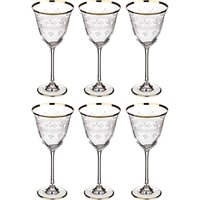 Набор из 6 хрустальных бокалов для вина