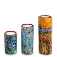 Набор подсвечников «Willows Irises Blossom» Винсент Ван Гог pr-TS01GO (Museum Parastone)