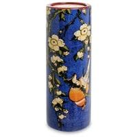 Подсвечник «Bullfinch and Blossoms» Кацусика Хокусай pr-TC09HOK (Museum Parastone)