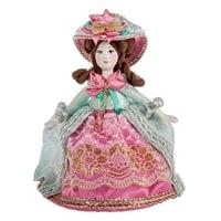 Кукла малая «Барышня в шляпке» RK-706