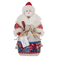Кукла «Дедушка Мороз с мешком» RK-615
