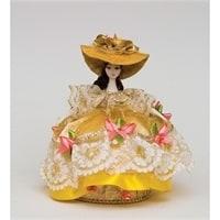 Кукла-шкатулка «Дама в шляпке» RK-730
