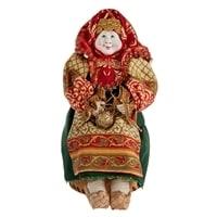 Кукла-шкатулка «Бабушка с вязанием» RK-722