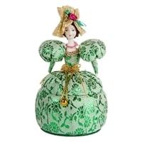 Кукла-шкатулка «Дама в нарядном платье» RK-731