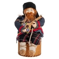 Кукла-шкатулка «Дед с балалайкой» RK-725