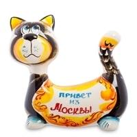 Фигурка «Кот-Пряник» ГЛ-356 (Гжельский фарфор)