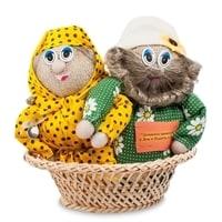 Домовики «Иван да Марья в ладье» КN02-002 (символ счастья)