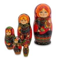 Матрешка 5-и кукольная «Марья с младенцем» СП МР-20/30