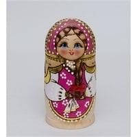 Матрешка 7-и кукольная «Дарья» в ассортименте