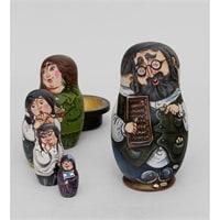 Матрешка 5-и кукольная «Еврей в шляпе» А