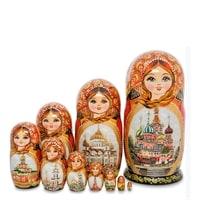 Матрешка 10-и кукольная «Надежда» МР-25/96