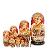Матрешка 10-и кукольная «Надежда» МР-25/97