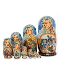 Матрешка 10-и кукольная «Надежда» МР-25/98