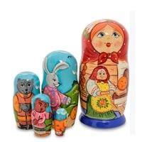 Матрешка-Сказка 5-и кукольная «Колобок» МР-24/31