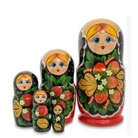 Матрешка 5-и кукольная «Клубничка» МР-43/35