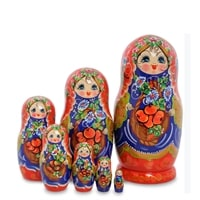 Матрешка 7-и кукольная «Василина» МР-43/37