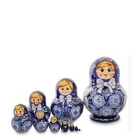 Матрешка 10-кукольная МР-10/18 (Семеновская)