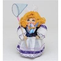 Матрешка-Кукла «Девушка с сачком»