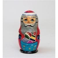 Матрешка Дед Мороз 5-и кукольная