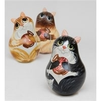 Неваляшка «Кот»
