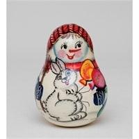 Неваляшка «Снеговик»