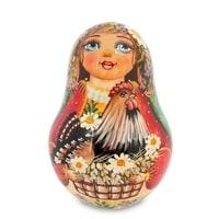 Неваляшка «Марья с курицей»