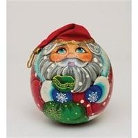 Неваляшка-шар «Дед Мороз»