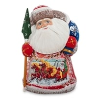 Фигурка Дед Мороз (Резной)